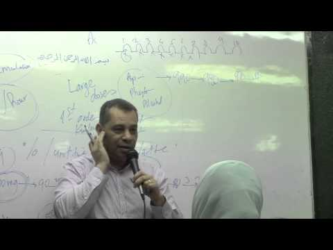 5. Dr. Ahmed Abdel-Rahman [Excretion-Fundamental Principles of Pharmacokinetics-Maintenance of Dose]