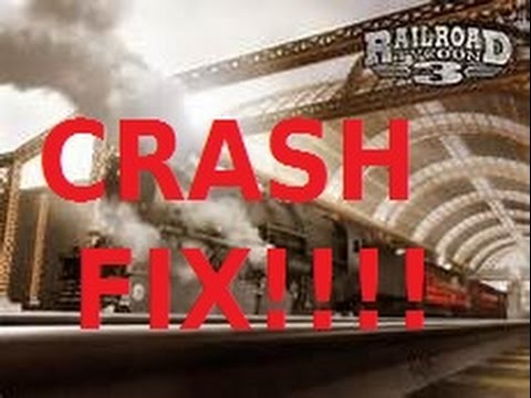 Railroad Tycoon 3 Steam Startup Crash Fix