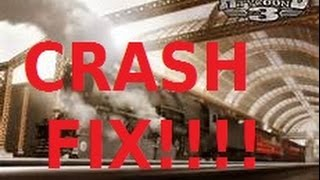 Railroad Tycoon 3 Steam Startup Crash Fix