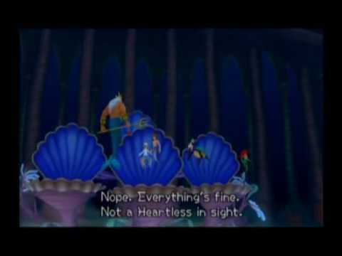 Kingdom Hearts II Playthrough - Part 60, Atlantica (2/2), Immobile Statue