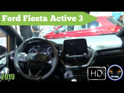 Ford Fiesta Active  - Exterior and Interior