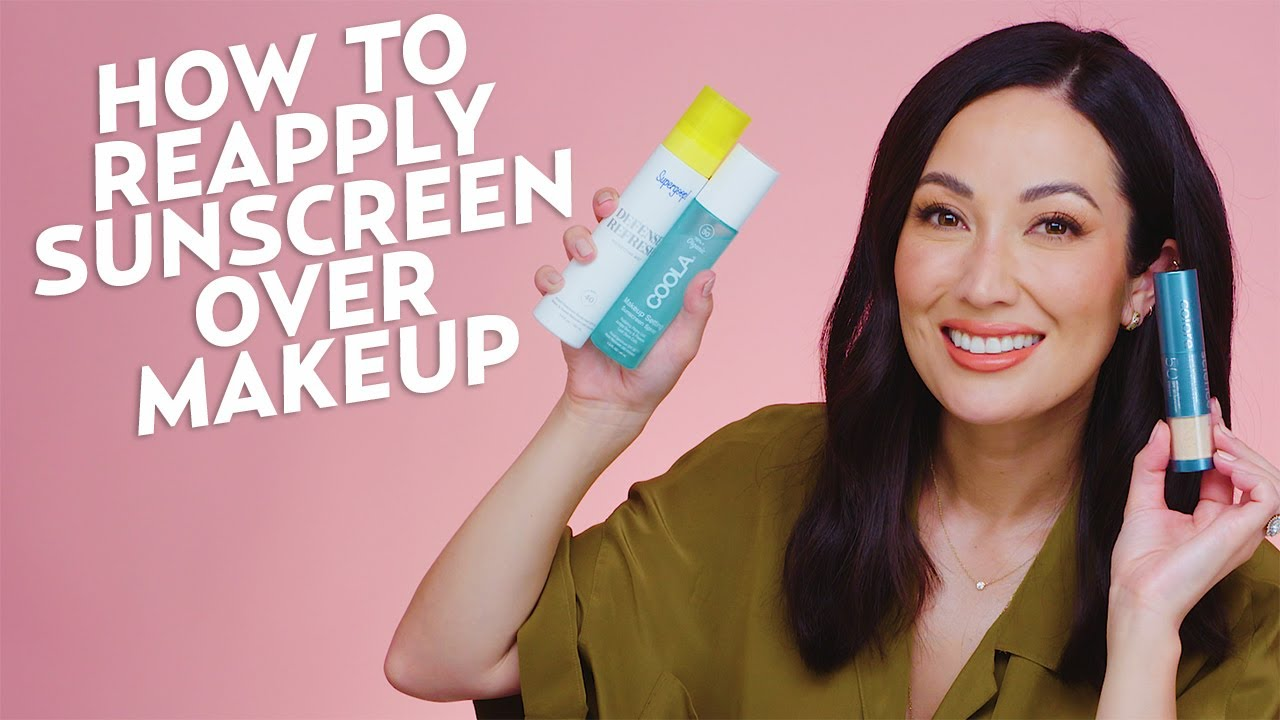 4 Ways to Reapply Sunscreen Over Makeup | Beauty with @Susan Yara