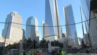 At World Trade Center Site on Tuesday July 30, 2013.