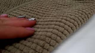 Обзор по вашим просьбам - бежевый текстиль для ванной комнаты