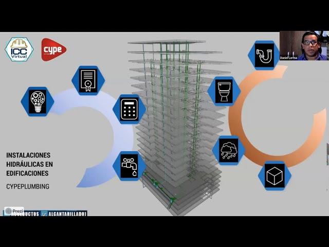 20200917 Redes hidráulicas para Edificaciones con CYPE • Ing  Daniel Lerma
