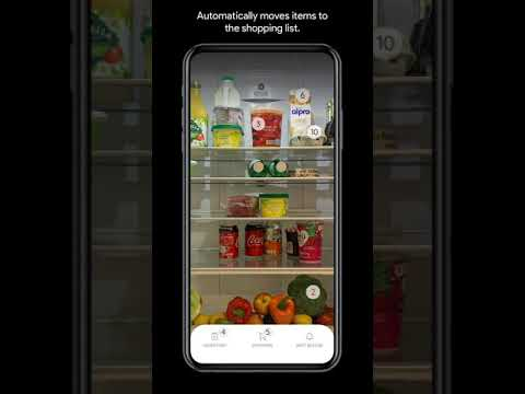 FridgeCam • Artificial Intelligence Tracking • Inventory and Shopping List