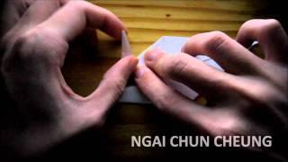 Origami Crow Raven (tutorial)