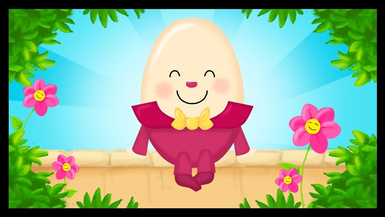 Humpty Dumpty Assis Sur Un Mur En Français Comptines Pour Enfants