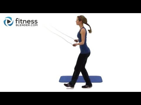 Jump Rope Workout Routine - Intense Home Cardio & Toning Exercises