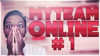 NBA 2K17 MYTEAM ONLINE #1 | GOING AGAINST DIAMONDS | KOT4Q