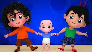 Junior Squad | Kids Nursery Rhymes | chubby cheeks rhyme | kids tv songs | kids song thumbnail