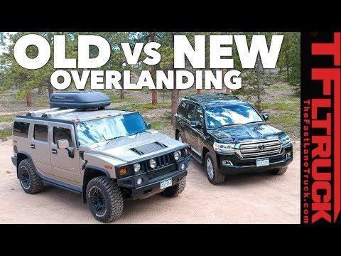 Old vs New: Best Overlander? Toyota Land Cruiser vs Worlds Most Hated Truck