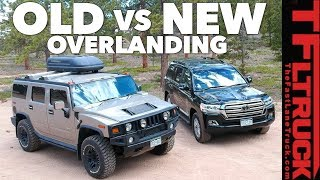 Old vs New: Best Overlander? Toyota Land Cruiser vs World