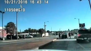 dashcam shows tulsa officers fatally shoot man armed with knife