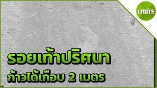 ฮือฮา-รอยเท้าปริศนาโผล่หนองบัวลำภู-23-04-62-ไทยรัฐนิวส์โชว์