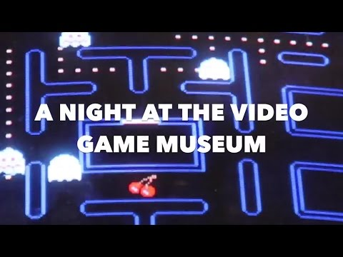 A NIGHT AT THE VIDEO GAME MUSEUM STOCKHOLM