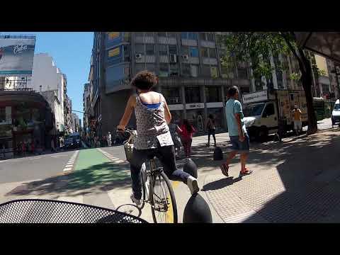 Pedalando em Buenos Aires Argentina Sport Bike