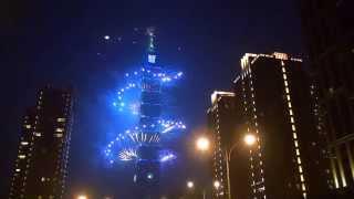2015 Taiwan Taipei 101 跨年煙火 By Spiderman
