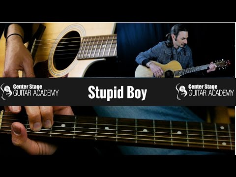Stupid Boy by Keith Urban guitar lesson
