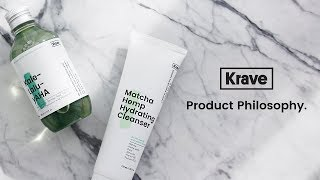 💚 KraveBeauty, Product Philosophy - Core & Supplement Series.
