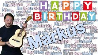 ❤️ Geburtstagslied für Markus- Happy Birthday Markus- Markus Geburtstagssong