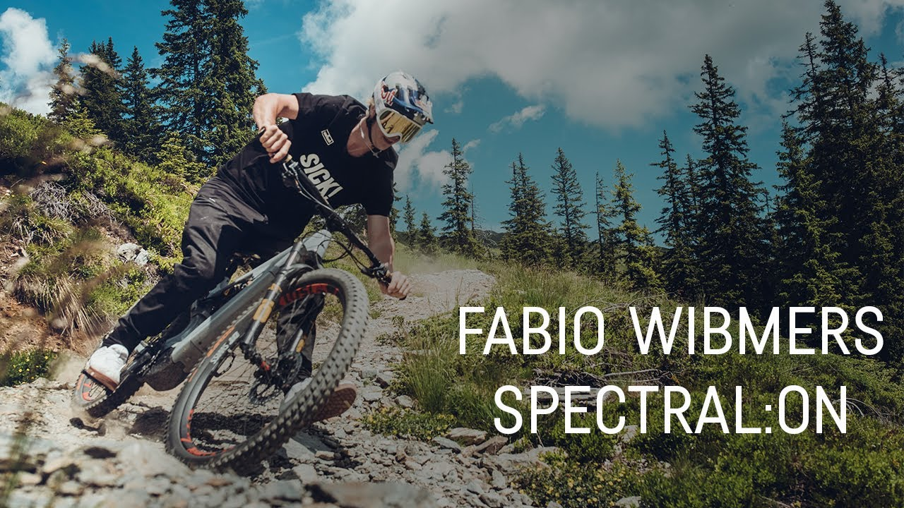 Fabio Wibmer's Spectral:ON Bikecheck at CLLCTV Sessions Saalbach
