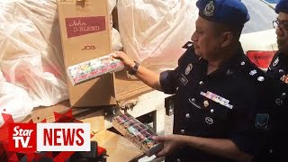 Two nabbed in contraband cigarettes shenanigans