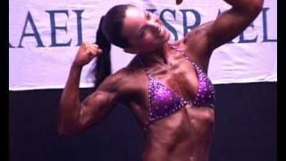 דנה קמה דנה רצה מיס פיטנס ישראל IFBB 2010 ISRAEL