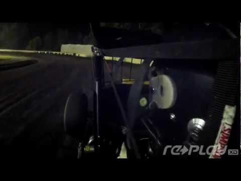 Danny Sheridan Calistoga Speedway In Car Flip :: Replay XD1080