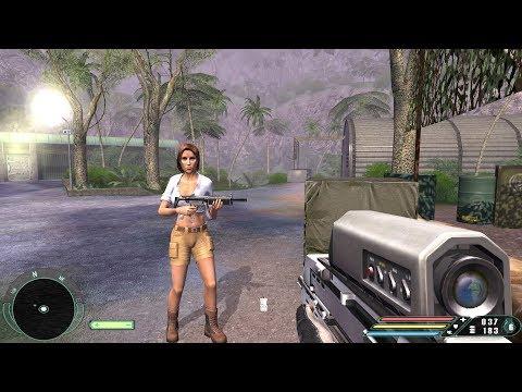 Far Cry 1: Walkthrough - Swamp [Level 17] (Realistic Mode) 4K UHD - 60FPS MAX Settings  
