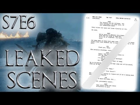 Season 7 Episode 6 Leaked Scenes ! | Game of Thrones Season 7 Episode 6