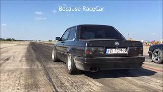 Bmw E30 Turbo vs Bmw E30 - Drag Race Ianca 2017 by Alex Buzoianu Photo