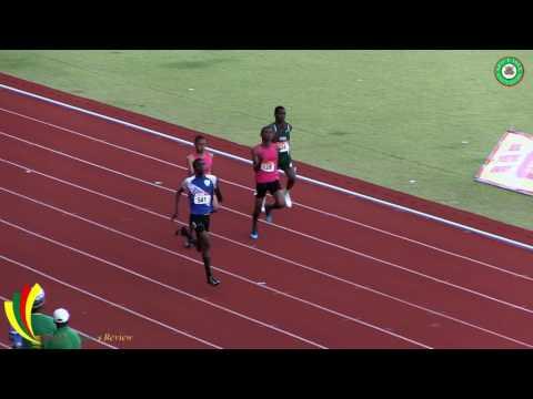 ARIZA Credit Union National Junior Championships 2017 - Boys 200m Dash Under 18
