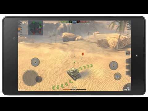 Обзор игры World of Tanks Blitz на Android