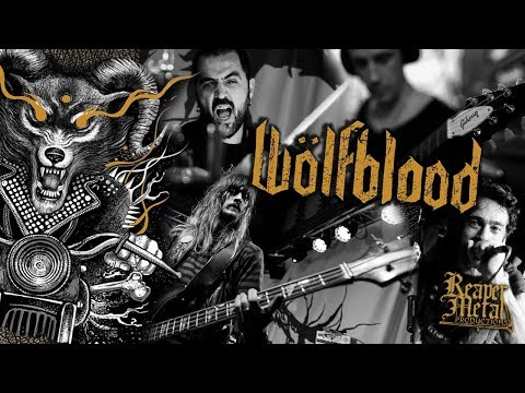 "Ride With Death & Satan to ""Rot N Roll"" - Wölfblood (Heavy Metal Video)"