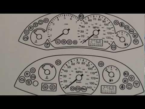 Ford Focus Dash Warning Lights & Symbols Mk1 1998 - 2005