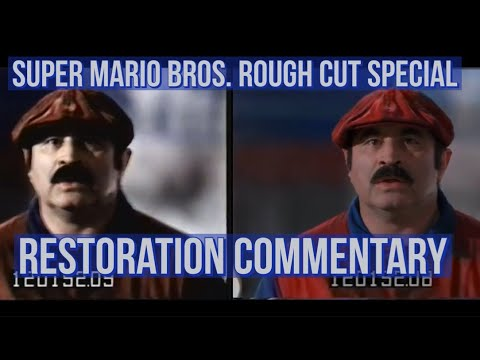 Exploring the Super Mario Bros. (1993) Extended Rough Cut Special: Restoration Commentary!