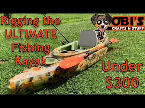 Rigging A Cheap Kayak For Fishing
