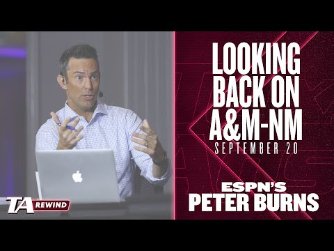 TexAgs puts a bow on A&M-New Mexico   ESPN's Peter Burns on A&M-Arky & more: TA Rewind (9/20)