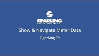 How to     TigerMag EP - Showing Meter Data