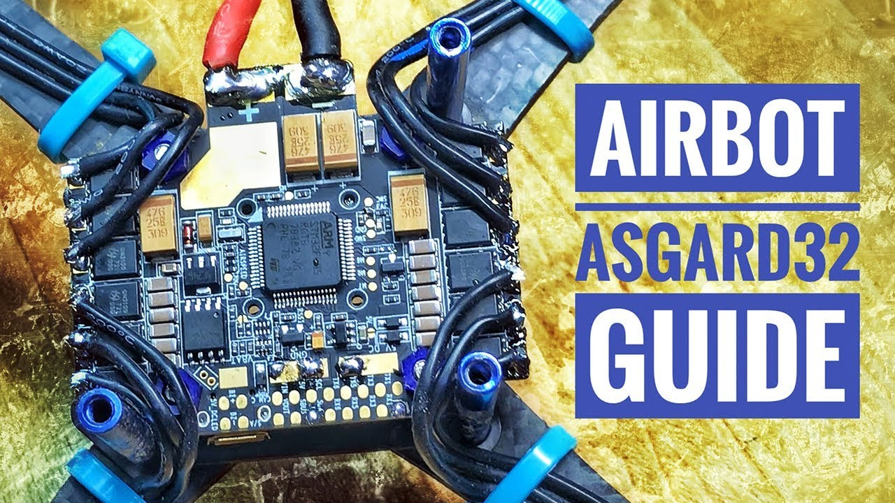 Airbot Asgard32 - Wiring Guide ❍ Betaflight Config ❍ Review - YouTube