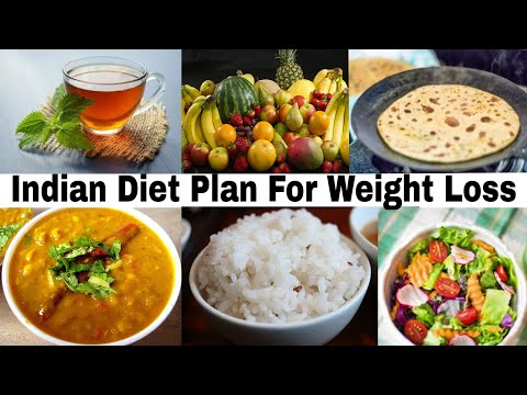 Indian Diet Plan For Weight loss/fat Loss In Hindi For Men And Women(अपना वजन कैसे कम करे)