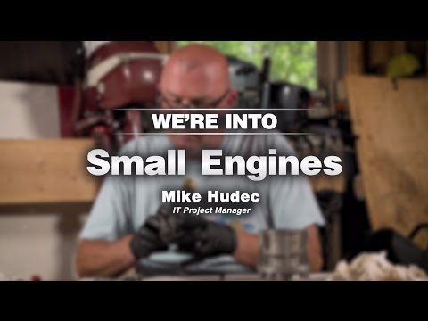 A Company Of Enthusiasts: We're Into Small Engines