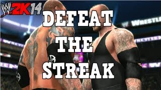 WWE 2K14: DEFEAT THE STREAK - Batista vs Undertaker (WM 23 Rematch)