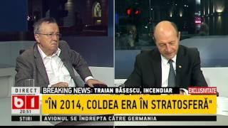 Traian Băsescu: Cred că în 2014, Florian Coldea era deja puțin în stratosferă