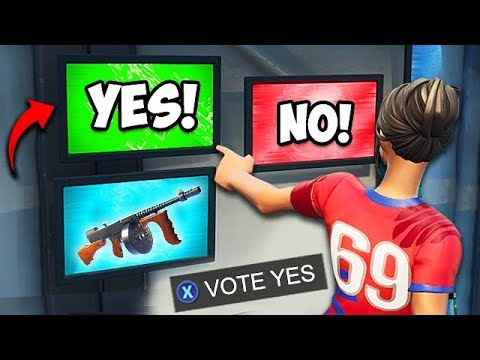 *NEW* VAULTED ITEMS VOTING ROOM FOUND! - Fortnite Funny Fails and WTF Moments! #544 thumbnail