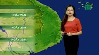 Thời tiết 12h 23/08/2019: Trung và Nam Trung bộ vẫn ít mưa| VTC14
