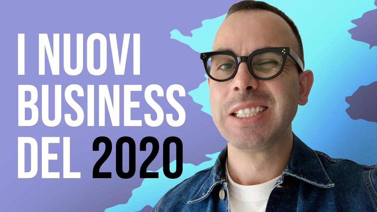 3 IDEE di business innovative per il 2020 ( ITA ) - YouTube