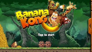 Banana kong, how to play banana kong game easiest. Baby kids games