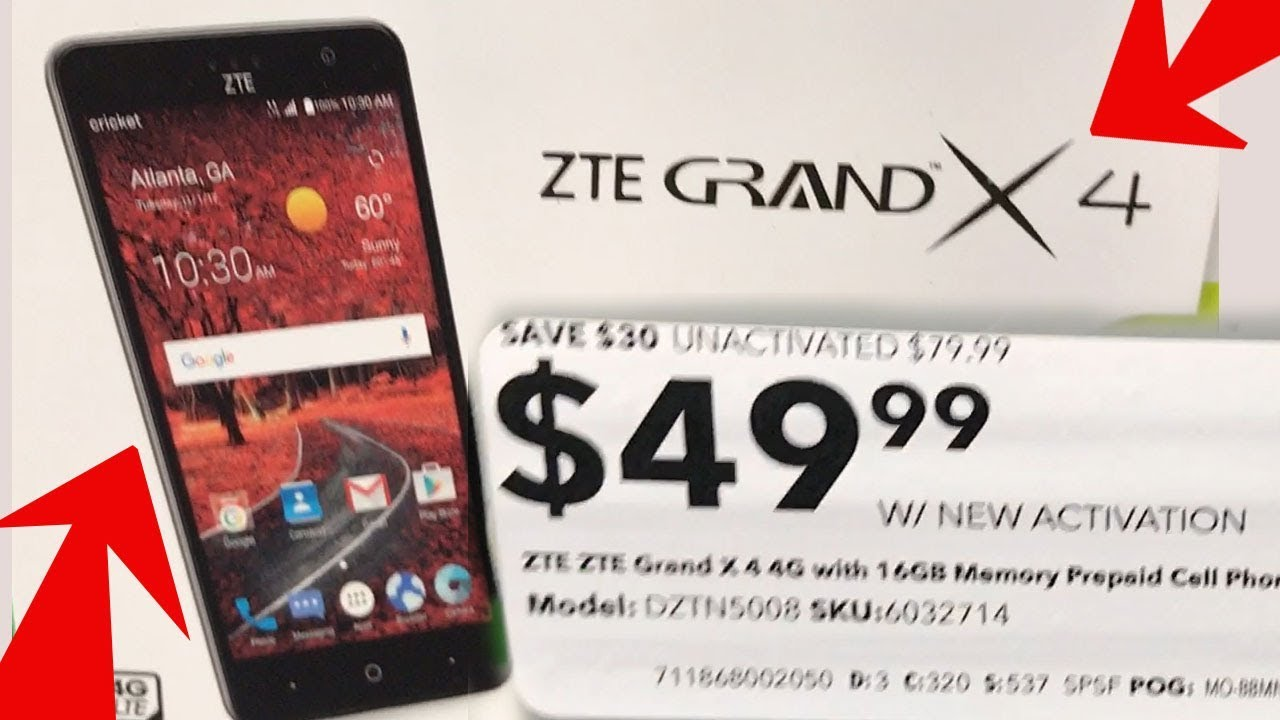 ZTE Grand X 4 Unlock Code Z956 ZTE Blade Spark 4G Unlocked Z971